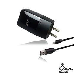 شارژر اصلی اچ تی سی 2 پین charger htc