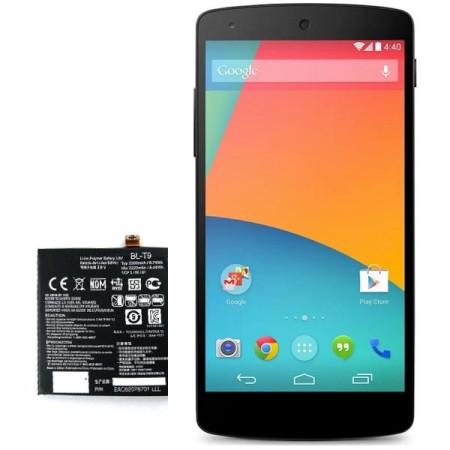 باتری گوشی موبایل LG nexus 5 مدل BL-T9