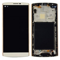 LG V10 LCD Display Touch Screen Digitizer Assembly With Frame