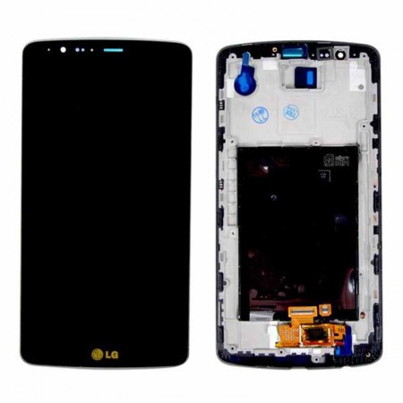 LG G3 LCD Touch Screen Digitizer with Frame Replacement
