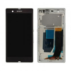 Sony Xperia Z L36H LCD Touch Screen Digitizer With Frame