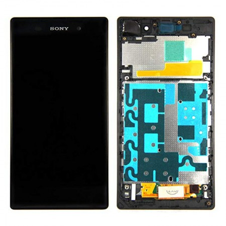 Sony Xperia Z1 L39H LCD Touch Screen Digitizer With Frame