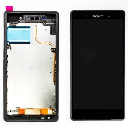 Sony Xperia Z2 LCD Touch Screen Digitizer With Frame
