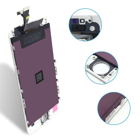 اجزای ریز تاچ و ال سی دی آیفون 6 پلاس iPhone 6 Plus در این عکس