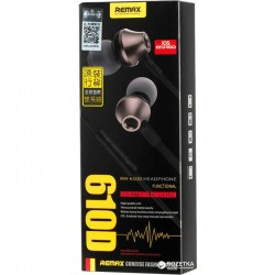 REMAX RM-610D Super Bass Earphone