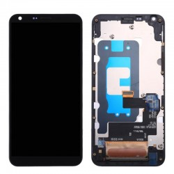 LG Q6 LCD Digitizer Assembly with Frame