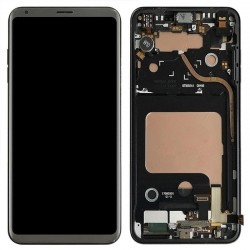LG V30 LCD Display Touch Screen Digitizer Assembly with Frame