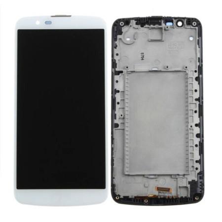 صفحه نمایش لمسی خازنی از نوع IPS LCD مناسب برای گوشی موبایل LG K10