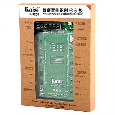 Kaisi K-9208 Battery Activation Charge Board Display Cable