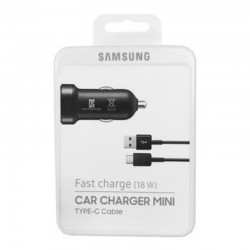 Samsung Fast Charging 18W Car Charger Mini Type-C