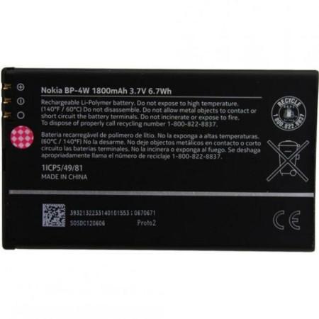 باتری اورجینال موبایل OEM Battery Nokia Lumia 810 BP-4W