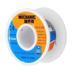 سیم لحیم مکانیک Mechanic Hx - 0.3mm