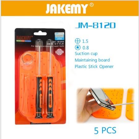 ست پیچ گوشتی Jakemy JM-8120