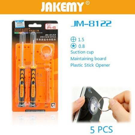 ست پیچ گوشتی Jakemy JM-8122
