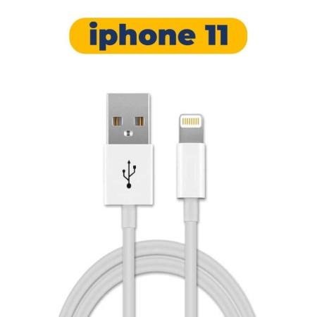 کابل شارژر اورجینال اپل ایفون 11