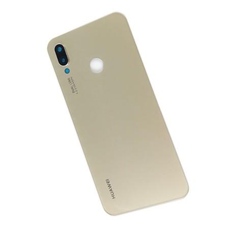 درب پشت Huawei Nova 3e رنگ طلایی