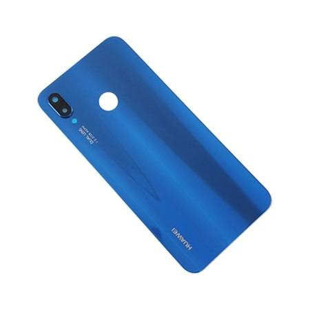 درب پشت هواوی Nova 3e رنگ آبی