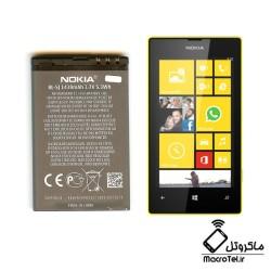 باطری گوشی nokia lumia 520