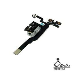 فلت-ولوم-و-سوکت-هندزفری-آیفون-apple-iphone-4g