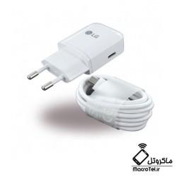 شارژر اصلی ال جی LG Travel Charger Adapter MCS-N04WD Type C