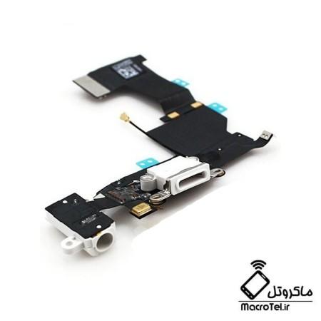 فلت شارژ گوشی موبایل آیفون 5