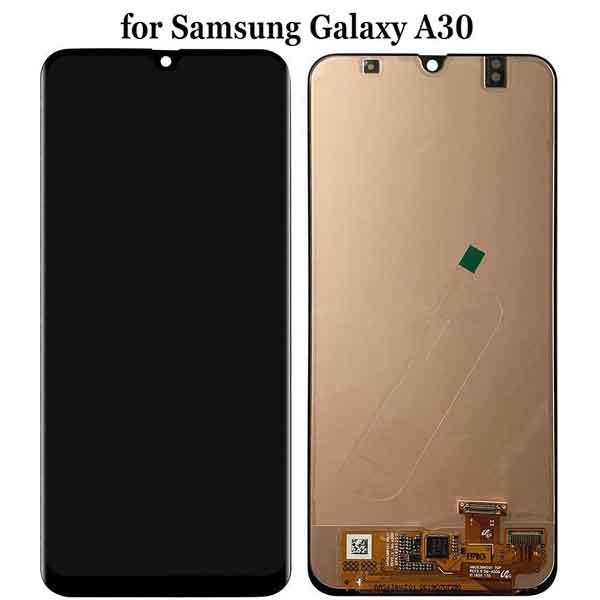 مشخصات تاچ ال سی دی Samsung Galaxy A30