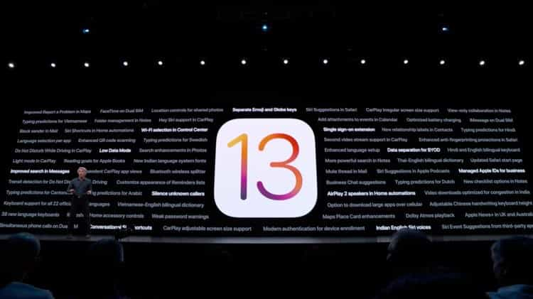 بهبود عملکرد iOS 13
