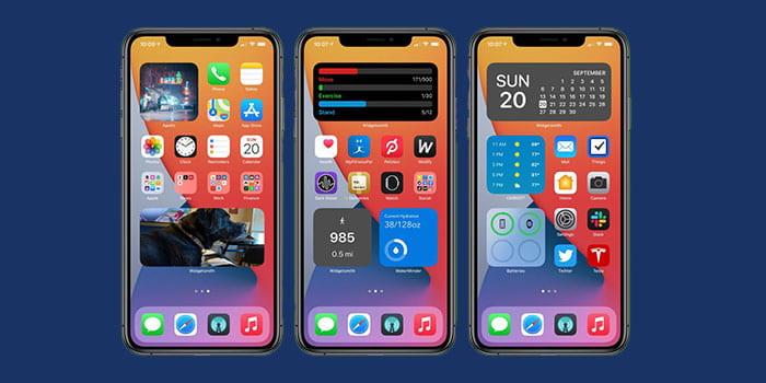 هوم اسکرین جدید در IOS 14