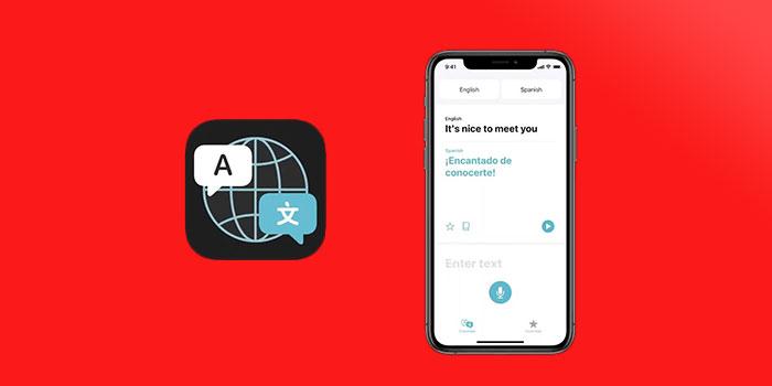 اپلیکیشن Translate برای ترجمه کردن در IOS 14