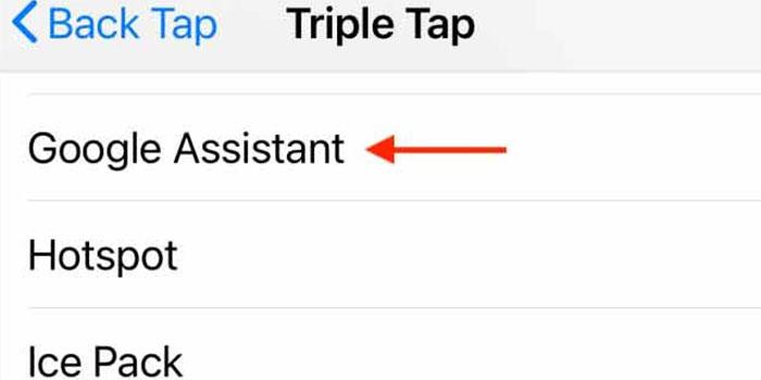 قابلیت triple tap در آیفون های ios 14