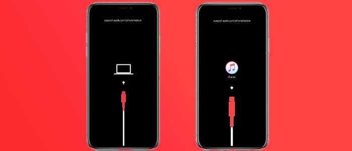 رفع مشکل قفل شدن آیفون روی لوگو اپل با ریکاوری مود