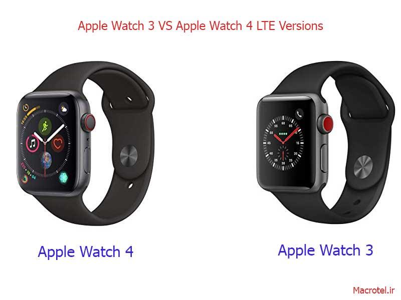تفاوت اپل واچ LTE با WiFi