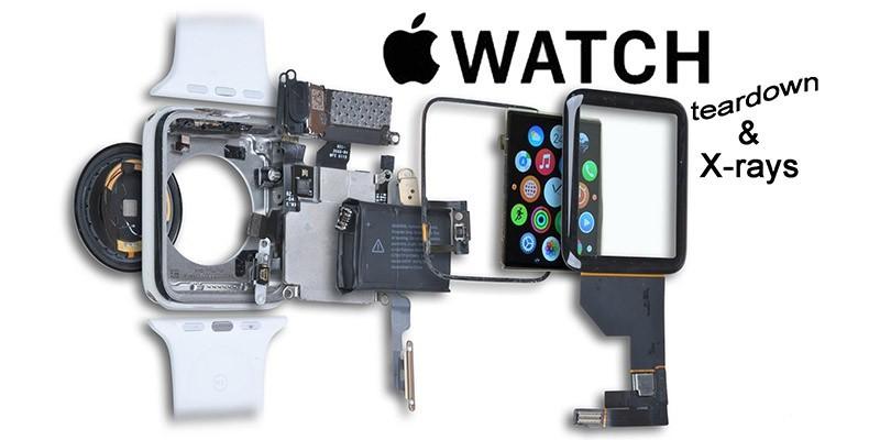 کالبد شکافی Apple Watch Series 1