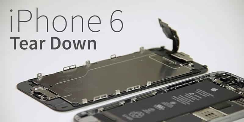 کالبد شکافی Apple iPhone 6