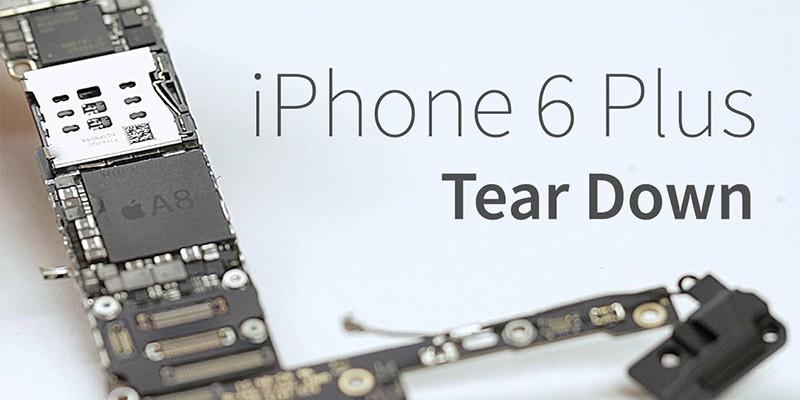 کالبد شکافی Apple iPhone 6 Plus