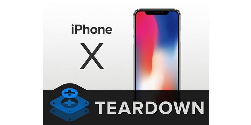 کالبد شکافی Apple iPhone X