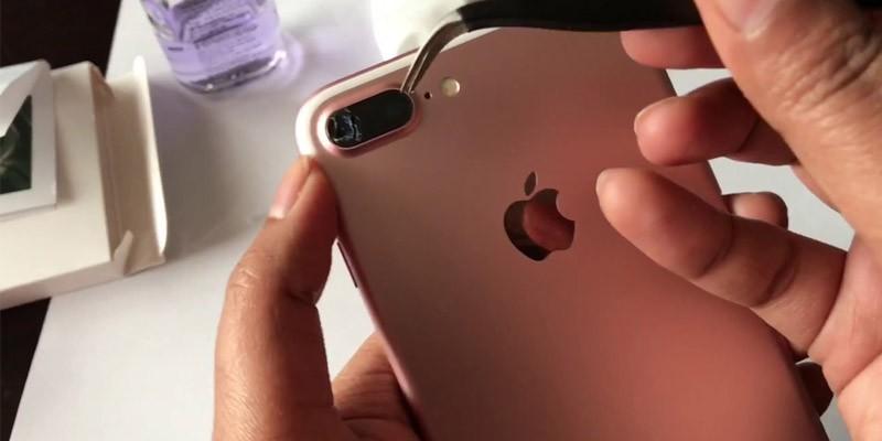 تعویض شیشه لنز دوربین موبایل در دفتر تعمیرات موبایل ماکروتل