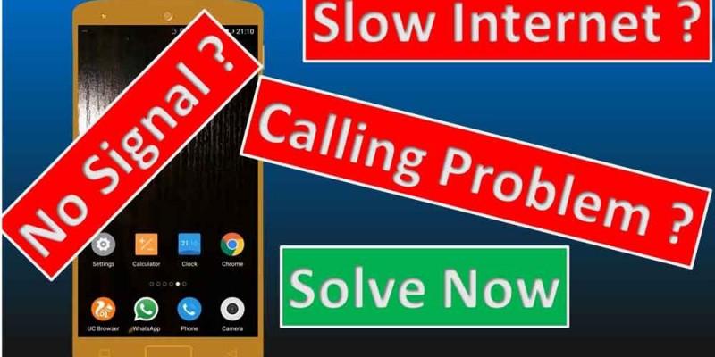 حل مشکلات اینترنت و آنتن در iOS و اندروید
