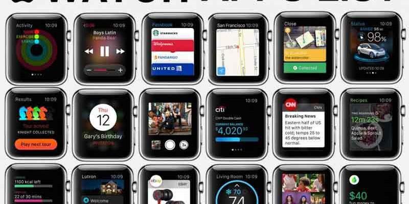 برنامه های کاربردی Apple Watch