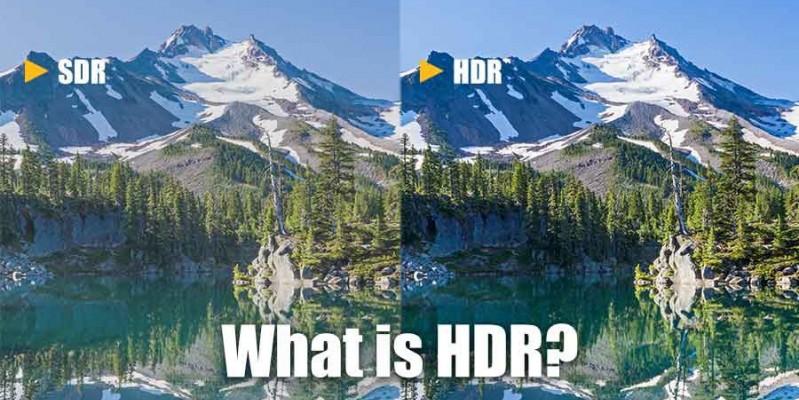 کاربرد HDR در دوربین موبایل