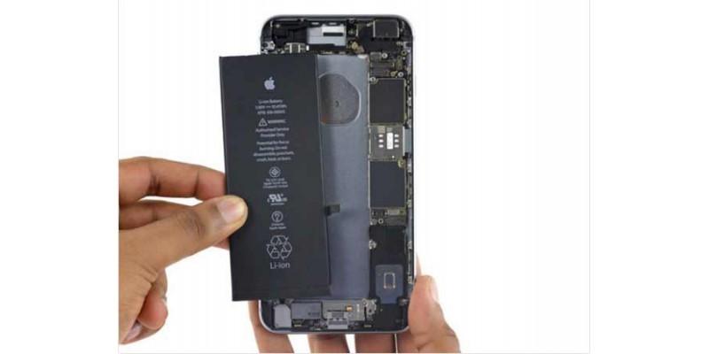 آموزش تعویض باتری آیفون 6 اس پلاس iphone 6s plus